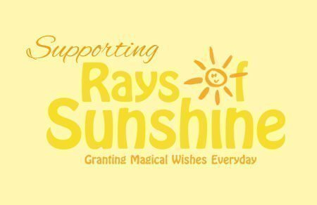 50p donation - Rays of Sunshine