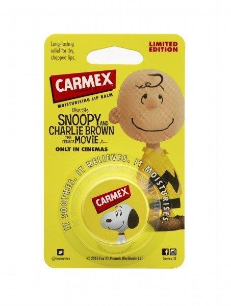 Carmex Lip Balm Peanuts Limited Editon Pot Original