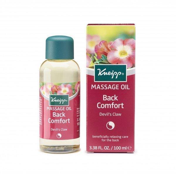 Kneipp Massage Oil Back Comfort Devils Claw (100ml)