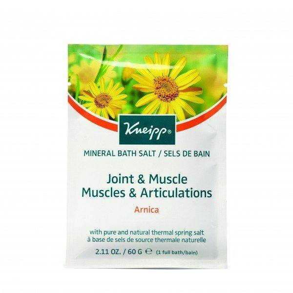 Kneipp Mineral Bath Salt Crystals Joint  Muscle Arnica (60g)