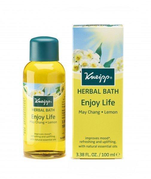 Kneipp Herbal Bath Enjoy Life May Chang Lemon (100ml)