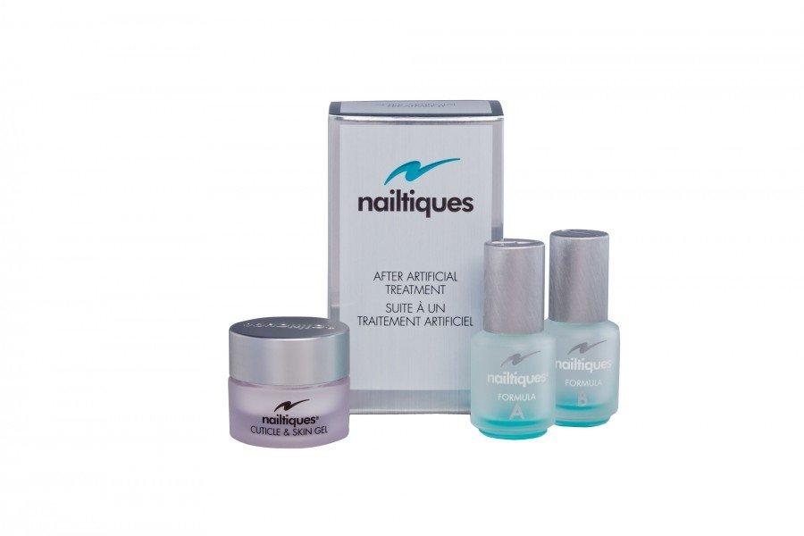 nailtiques After Artificial Treatment