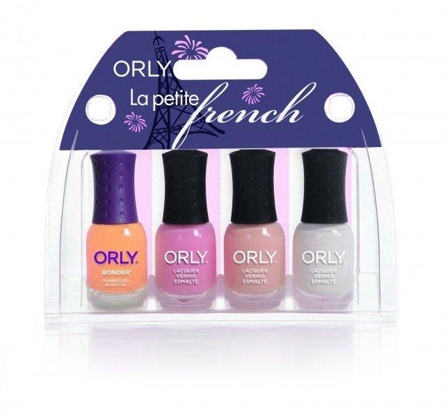 ORLY Nail Polish La Petite French (4pc)