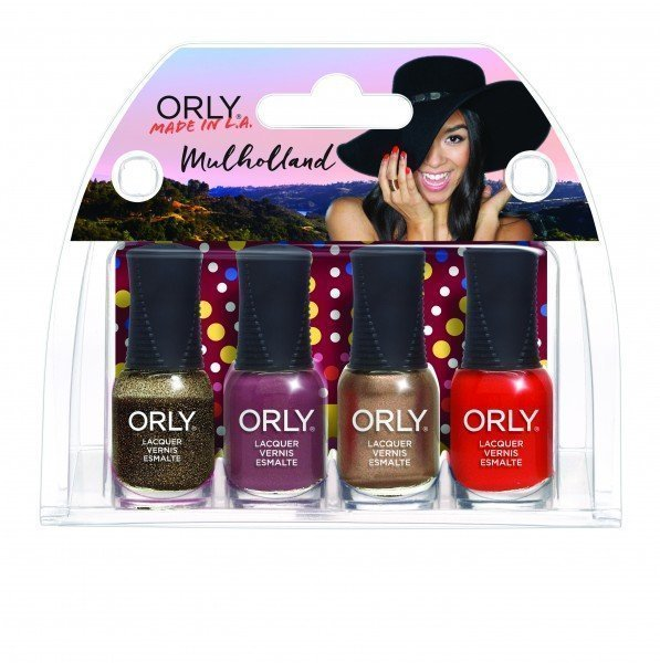 ORLY Mulholland 4 piece Mini Kit