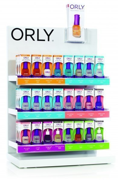 ORLY 18ml Treatment Empty Counter Display
