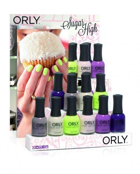 ORLY Sugar High 18 piece Kit