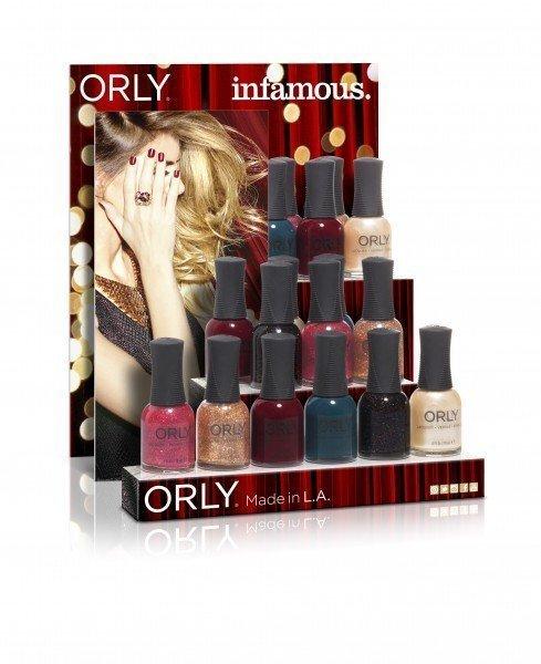 ORLY Infamous display 18 pc