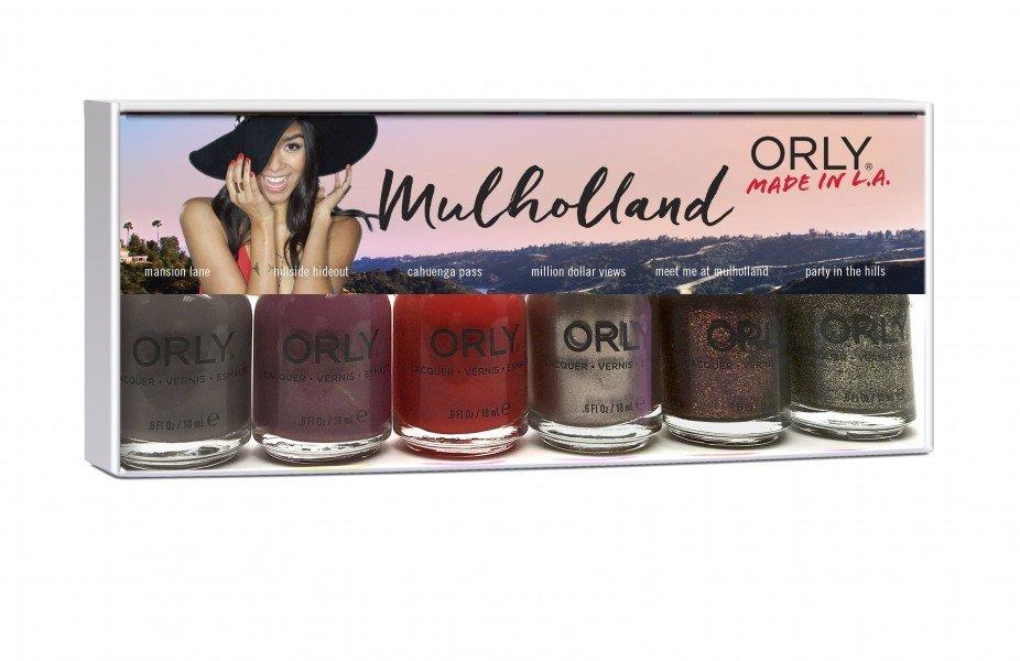 ORLY Mulholland Autumn 6 piece + 1 free