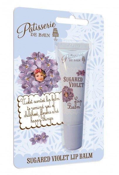 Patisserie de Bain Lip Balm Sugared Violet Tube (10ml)
