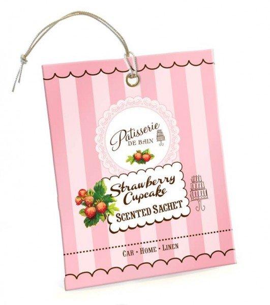 Patisserie de Bain Scented Sachet Strawberry Cupcake