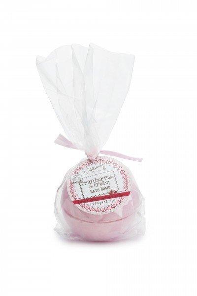 Patisserie de Bain Bath Bomb Cranberries  Cream