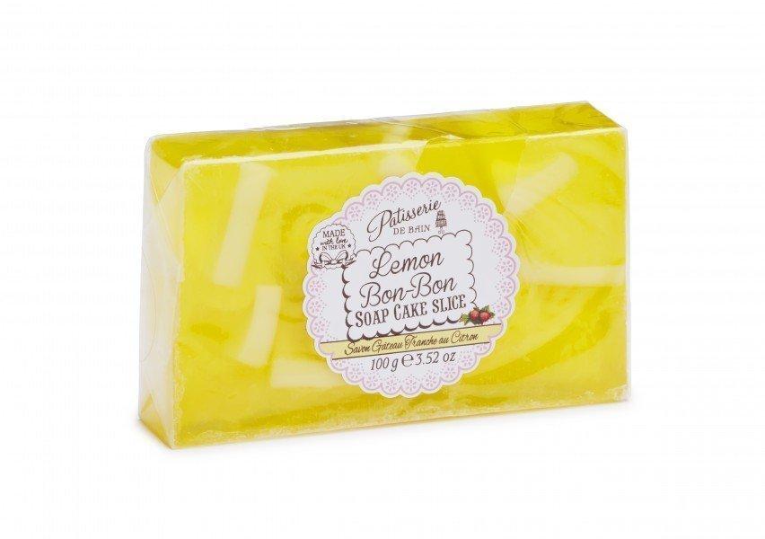 Patisserie de Bain Soap Cake Slice Lemon Bon-Bon