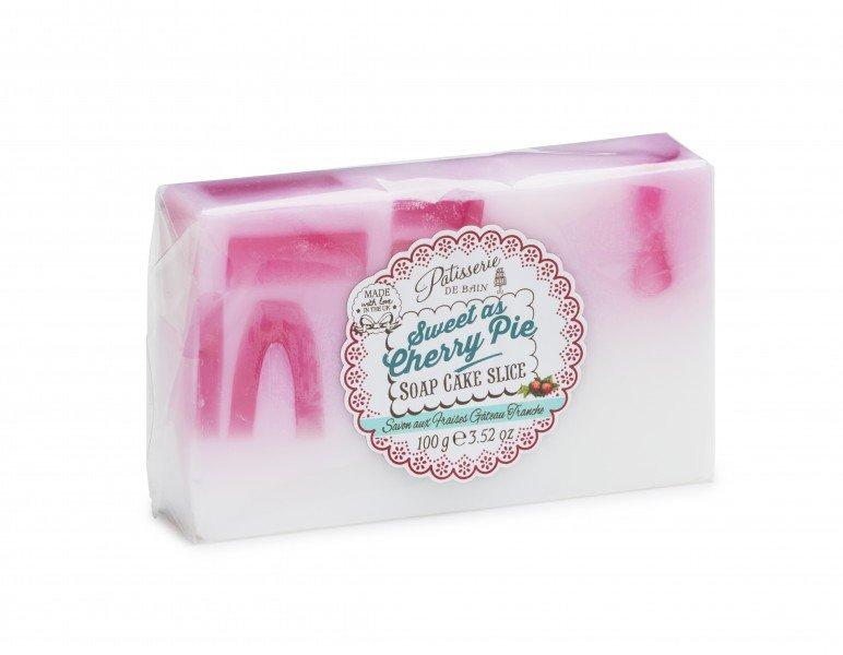 Patisserie de Bain Soap Cake Slice Sweet as Cherry Pie