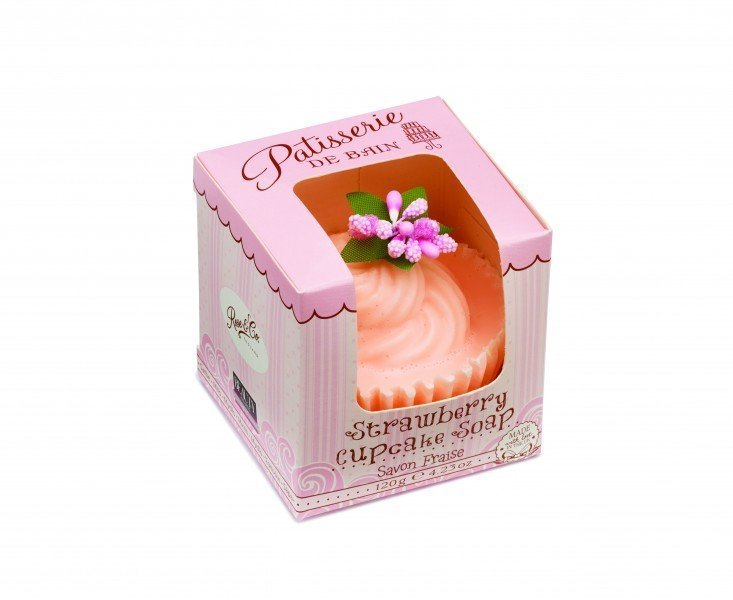 Patisserie de Bain Cupcake Soap Strawberry Cupcake