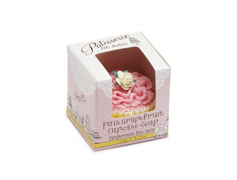 Patisserie de Bain Cupcake Soap Pink Grapefruit