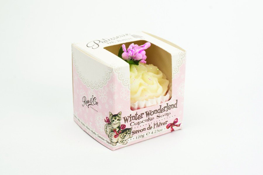 Patisserie de Bain Cupcake Soap Winter Wonderland