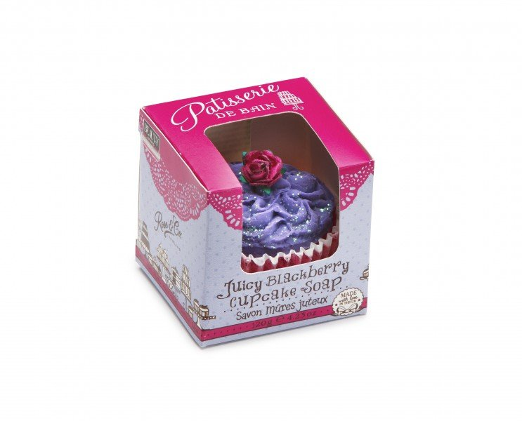 Patisserie de Bain Cupcake Soap Juicy Blackberry