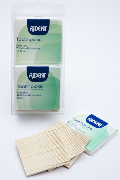 Rident Toothpicks 4 x 30pcs