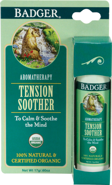 Badger Balm Aromatherapy Stick Mind Tension Soother