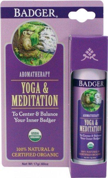 Badger Balm Aromatherapy Stick Yoga Meditation
