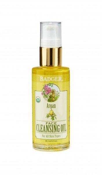 Badger Balm Skin Care Argan Cleansing Oil