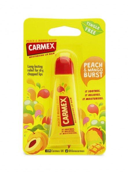 Carmex Lip Balm Tube Peach and Mango