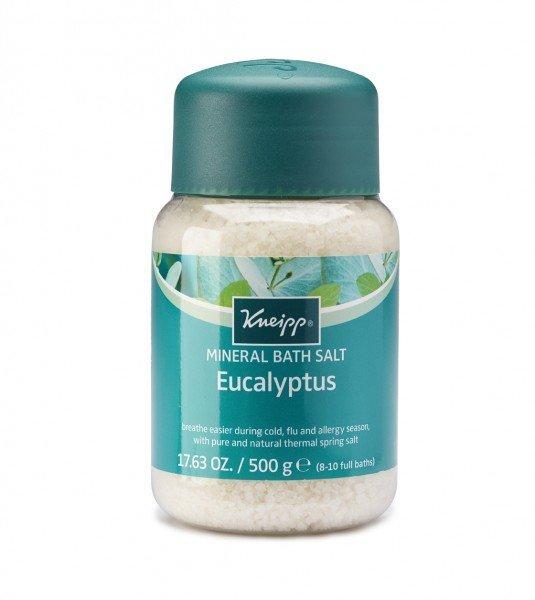 Kneipp Mineral Bath Salt Crystals Cold Season Eucalyptus  (500g)