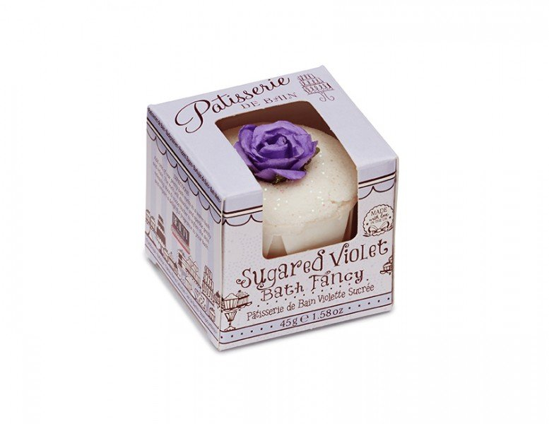 Patisserie de Bain Sugared Violet Bath Fancy