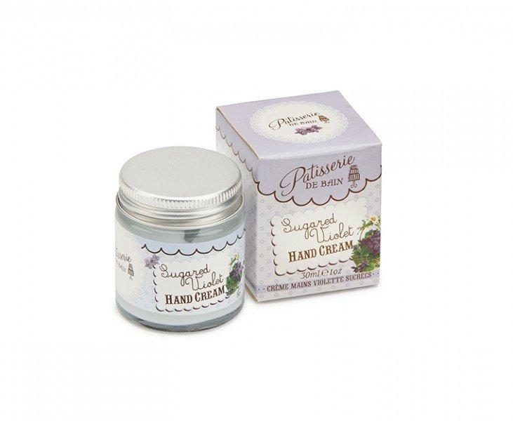 Patisserie de Bain Hand Cream Jar Sugared Violet