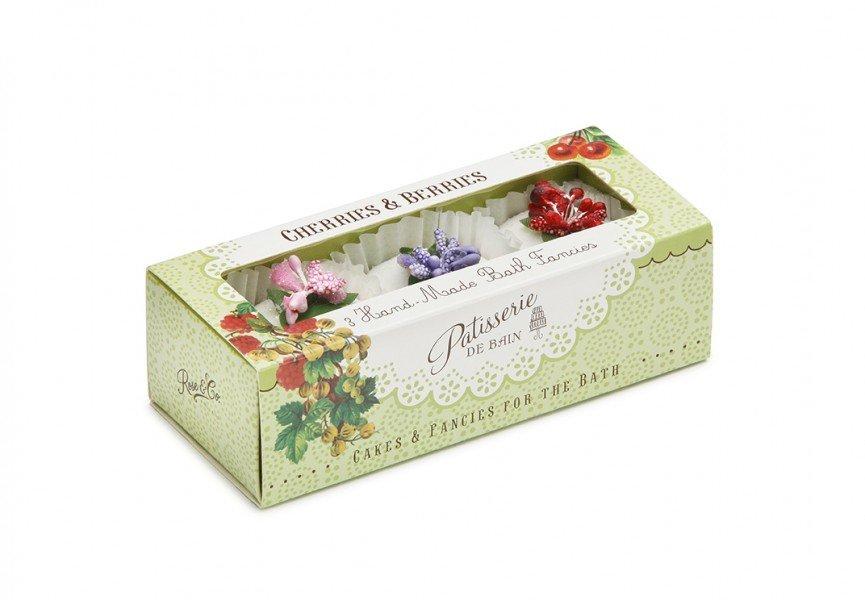 Patisserie de Bain Bath Fancies Trio Cherries Berries