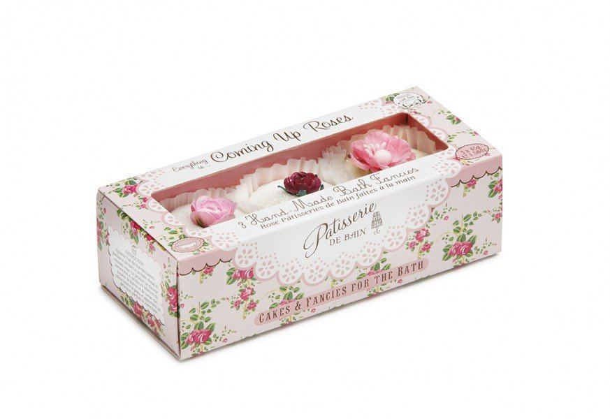 Patisserie de Bain Bath Fancies Trio Coming up Roses