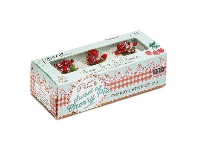 Patisserie de Bain Bath Fancies Trio Sweet as Cherry Pie