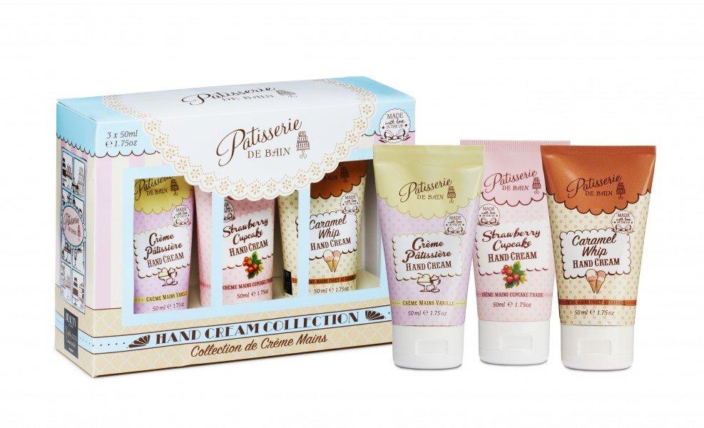Patisserie de Bain Hand Cream Collection (Strawberry, Caramel,  Creme Patissiere) (3x50ml)