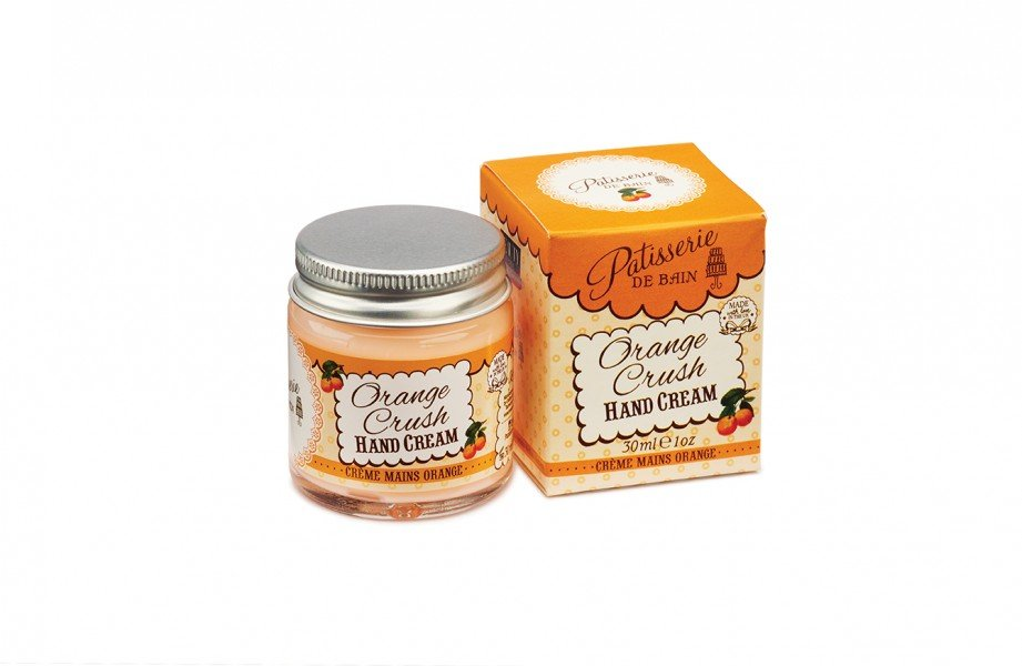 Patisserie de Bain Hand Cream Jar Orange Crush