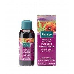 Kneipp Herbal Bath Pure Bliss Red Poppy and Hemp (100ml)