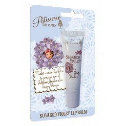 Patisserie de Bain Lip Balm Sugared Violet Tube (10ml)