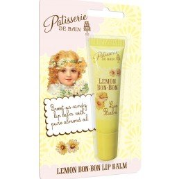 Patisserie de Bain Lip Balm Lemon Bon-Bon Tube (10ml)