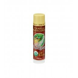 Badger Lip Balm Vanilla Madagascar Stick