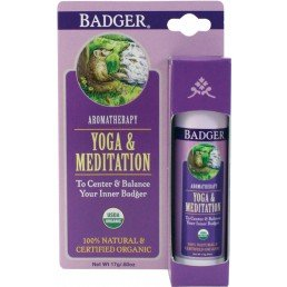Badger Balm Aromatherapy Stick Yoga Meditation