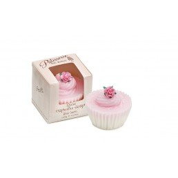 Patisserie de Bain Cupcake Soap Rose