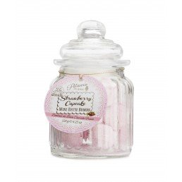 Patisserie de Bain Mini Bath Bombs Strawberry Cupcake Sweetie Jar