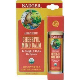 Badger Balm Aromatherapy Stick Cheerful Mind