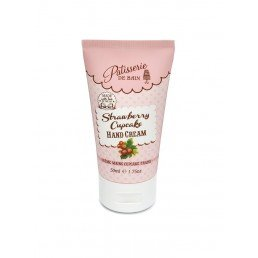 Patisserie de Bain Hand Cream Tube Strawberry Cupcake