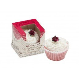 Patisserie de Bain Cupcake Soap Cranberries Cream