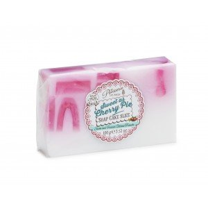 Patisserie de Bain Soap Cake Slice Sweet as Cherry Pie