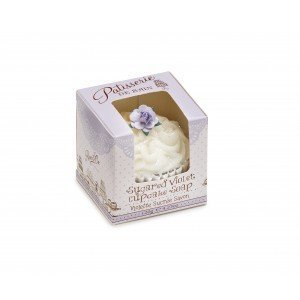 Patisserie de Bain Cupcake Soap Sugared Violet