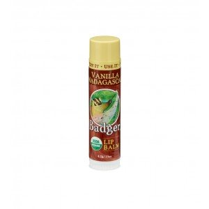 Badger Lip Balm Vanilla Madagascar Stick 4.2g