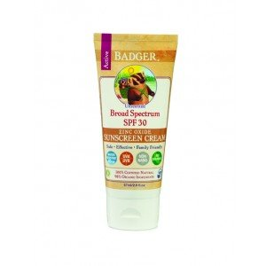 Badger Sunscreen Broad Spectrum Unscented SPF30 (87ml)