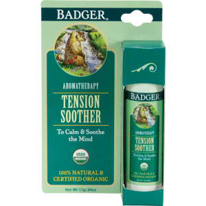 Badger Balm Aromatherapy Stick Mind Tension Soother (17g)