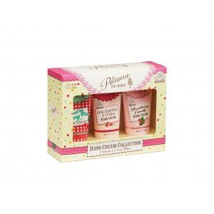 Patisserie de Bain Hand Cream Collection (Cherry, Cranberries,  Strawberry) (3x50ml)